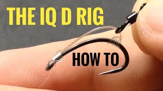 How to tie the IQ D carp rig