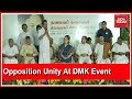 Opposition Unity On Display At DMK's Karunanidhi Statue Unveiling Event | Live