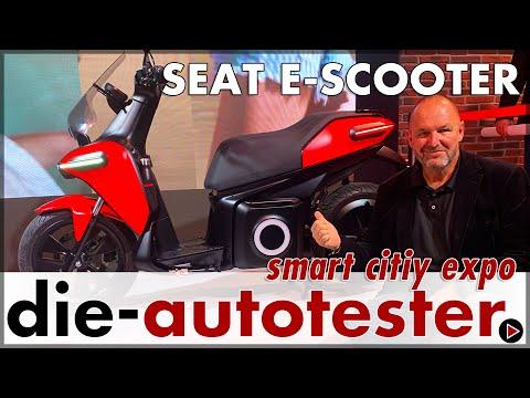 smart city expo 2019: Seat E-Scooter feiert Weltpremiere in Barcelona | Messe | Review | Deutsch