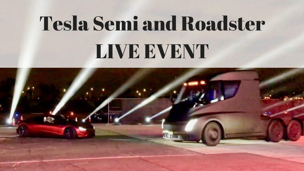 Tesla event stream