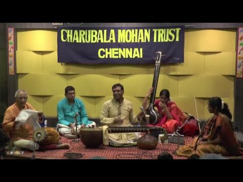 Charubla Mohan Trust-Award function. CHITRAVINA NADA JNANA MANI' on N Ravikiran