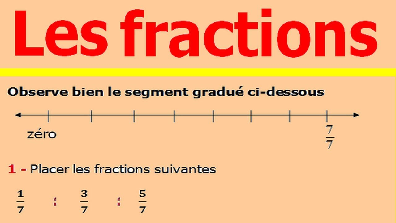 Maths 6ème - Fractions Exercice 3 - YouTube