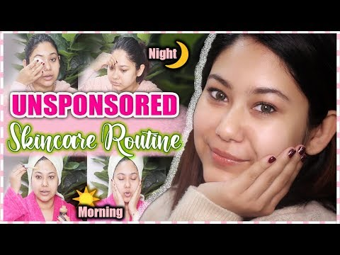 my-unsponsored-skincare-routine-|-morning-&-night-in-depth-routine-for-clear-skin-|-thatquirkymiss