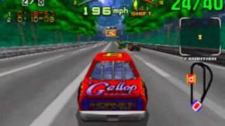 Daytona USA Game Sample - Sega Saturn
