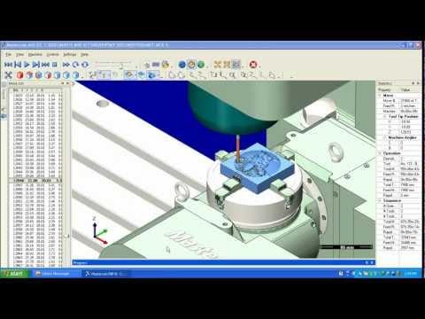 mastercam machine simulation