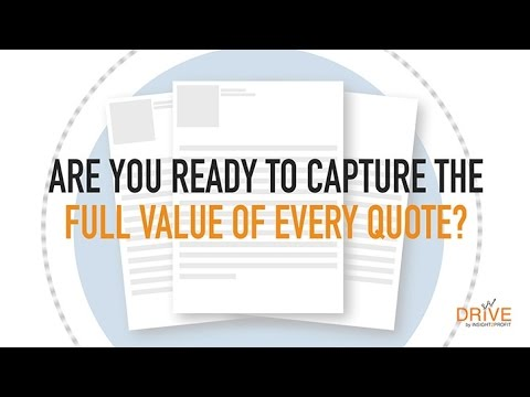 Improve your Quoting Process and Win Rate with Price Builder