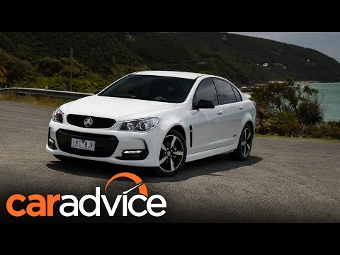 2016 Holden Commodore SV6 Black Edition review | CarAdvice