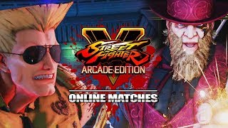 LISTEN TO YOUR PRESIDENT, GUILE! Week Of! G :Street Fighter V Online Matches