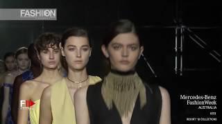 KITX MBFW AUSTRALIA RESORT 2018 - Fashion Channel