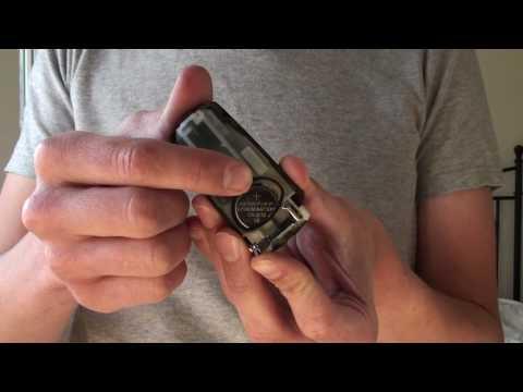 How to change battery in VW Passat B6 2005 onward Key Fob