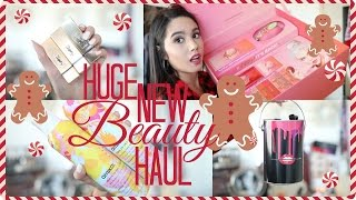 HUGE NEW BEAUTY PRODUCTS HAUL | 2016