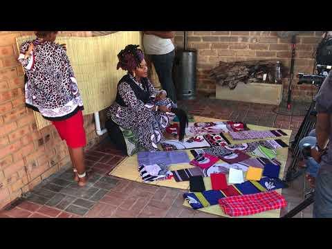 "Part III ancestral cloths & Ubizo ""The calling to be a Sangoma"""