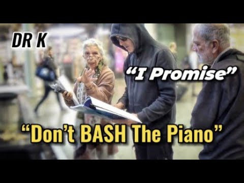 Street Dude Promises Not To Bash The Public Piano
