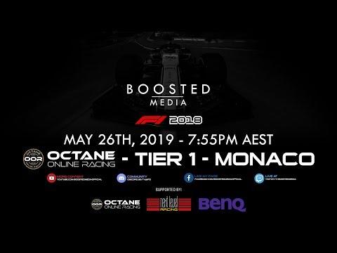 F1 2018 GAME STREAM - OOR Tier 1 - Monaco