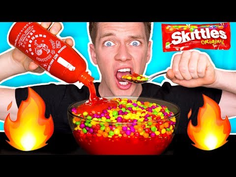 WEIRD Food Combinations People LOVE!!! *HOT SAUCE & SKITTLES