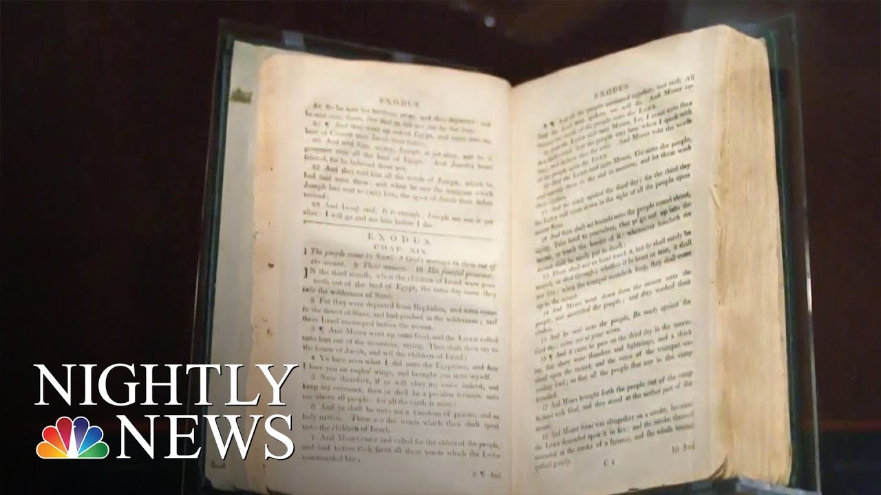 'Slave Bible' Removed Passages To Instill Obedience.