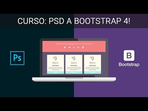 Convertir PSD A HTML Con Bootstrap 4! - #1 Introducción Al Curso De Maquetación De Páginas Web HTML