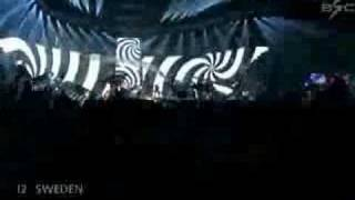 Eurovision SC Final 2007 - Sweden - The Ark