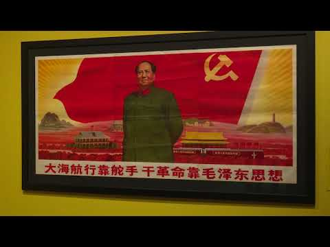 "Gallery Tour of  ""Graphic Ideology: Cultural Revolution Propaganda from China."""