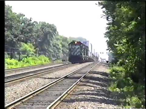 BN at Cicero ,BN Racetrack Action, And CNW at Elmhurst