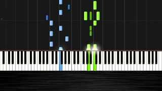 Avicii - Hey Brother Piano Tutorial by PlutaX (Synthesia)