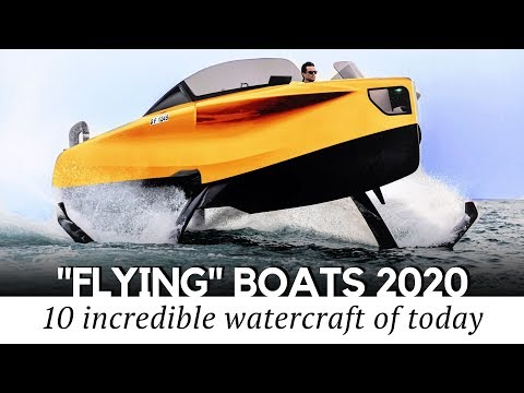Top 10 Flying Boats And New Hydrofoil Inventions That Can Hover Over Water