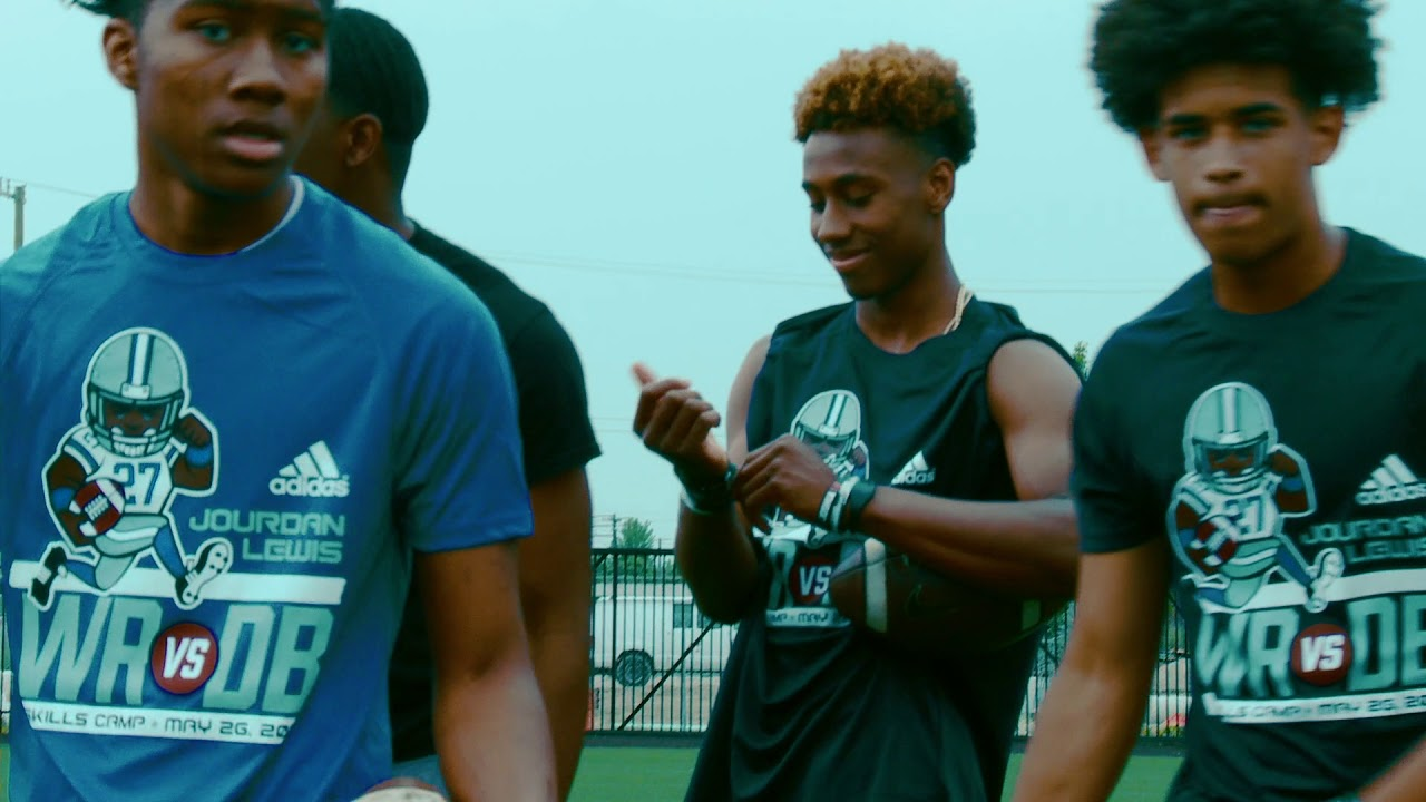 Jourdan Lewis 2nd Annual Football Skills Camp Highlights
