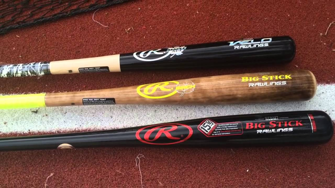 Best Rawlings Wood Bats | Ace, JM7, More | BatDigest com
