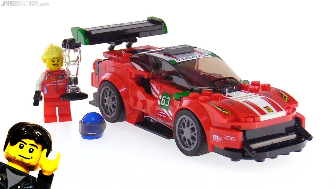 lego speed champions ferrari 488 gt3 scuderia corsa review 75886. Black Bedroom Furniture Sets. Home Design Ideas