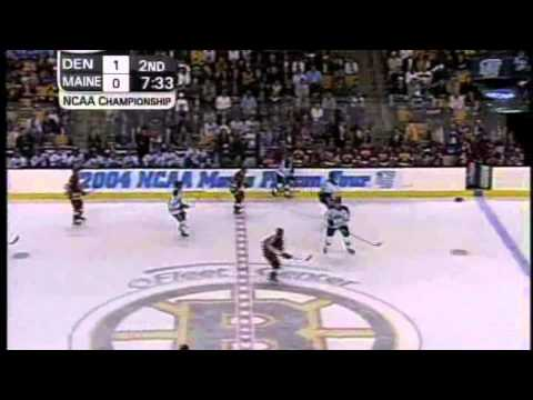 Maine vs. Denver 2004 NCAA Hockey Championship Highlights
