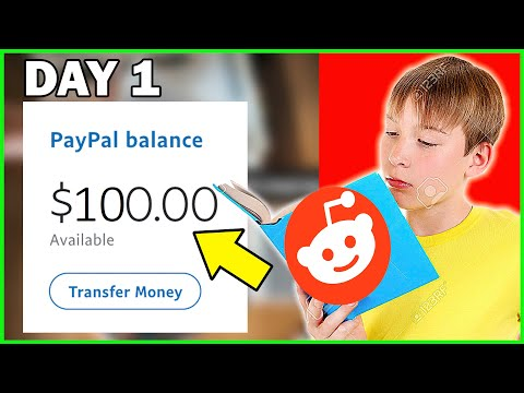 Earn $100 PayPal Money Per Day On REDDIT (Passive Income Trick 2020!)