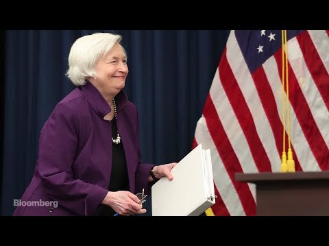 Fed Chair Janet Yellen Announces Interest Rate Hike