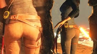 Lara Croft Sexy Animations (Rise Of The Tomb Raider)