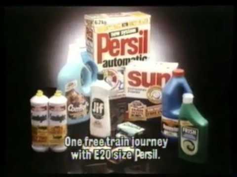 1985 - Persil - British Rail [What
