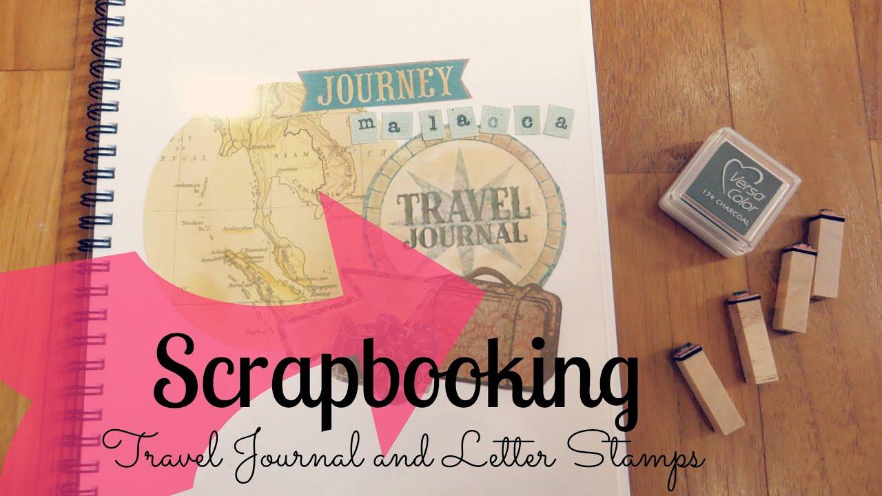 How to scrapbook journal - How To Scrapbook Journal 6