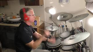 BARRY WHITE Never Never Gonna Give Hya Up - Drum cover