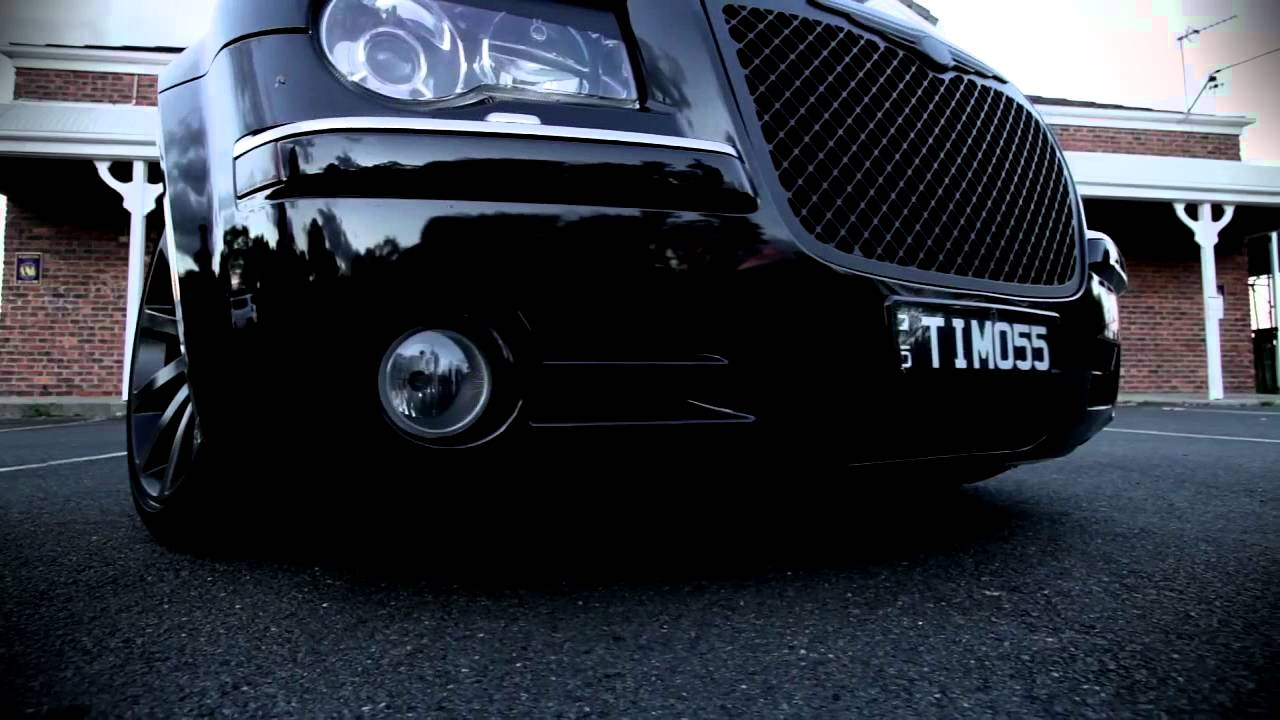 Murdered Out 300c Not Bagged Youtube