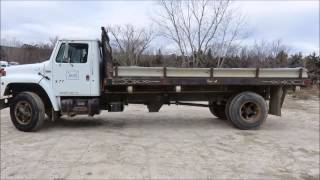 1989 International 1754 dump truck for sale | sold at auction January 29, 2015
