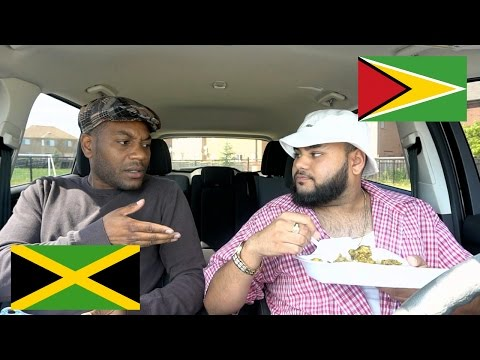 Jamaican Gives Hungry Guyanese Man A Driving Exam