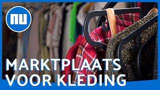 Kijkje bij grootste kledingmarktplaats van Nederland | NU.nl