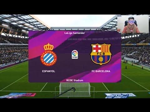 Espanyol Vs Barcelona | Pes 2020 Gameplay