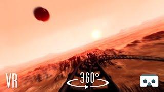 360 VR Mars Roller Coaster: Virtual Reality 360 3D Video for Samsung Gear VR Box Cardboard Oculus GO