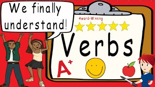 Verbs | Action Verbs | Award Winning Verb Video for Teaching | What is a Verb?