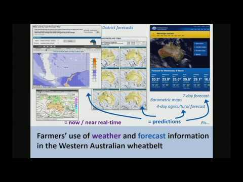 Farmers' use of weather and forecast information in the Western Australian wheatbelt