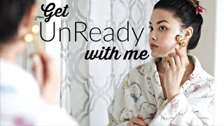 GET UNREADY WITH ME | Skin Care Routine + My Dry Skin Tips for Winter