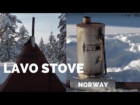 Norsk militær lavo ovn  - demonstrasjon