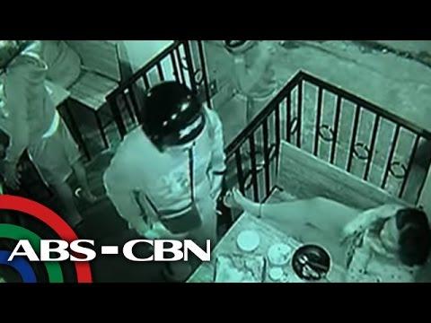 TV Patrol: Aktwal na holdapan sa isang restaurant, sapul sa CCTV