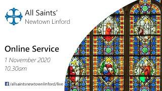 Online Service for All Saints', Sunday 1 November 2020