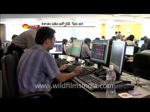 Infosys effect on Stock Market