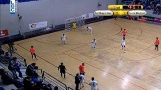 Futsal final Lebanese championship 14 / 15 - January 20, Al Mayadeen v/s Bank Beirut